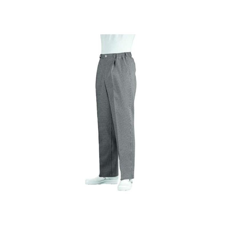 Pantalon cuisine mixte Coton Grande taille Ceinture élastique dos