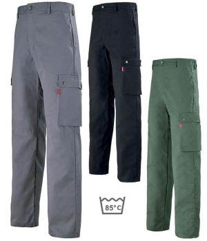 Pantalon de Travail Adolphe Lafont, Modèle Carrier, Fermé par un bouton rivet