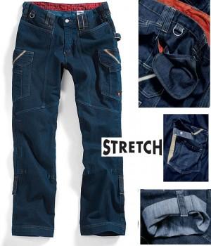Pantalon homme, Stretch, jambes retroussables,Grand teint