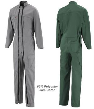 Combinaison de Travail Adolphe Lafont Pyrop, 65% Polyester, 35% Coton