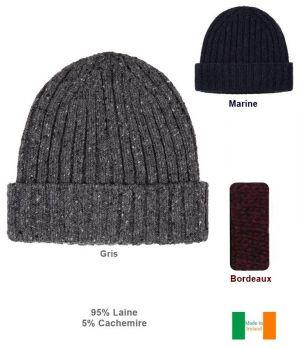 Magnifique Bonnet Irlandais Femme ou Homme, Doux et Chic