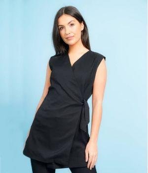Kimono Noir, Coupe Flatteuse, Look Professionnel et Tendance