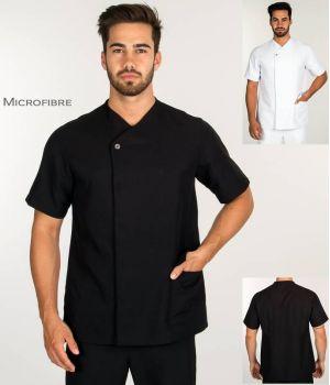 Tunique Homme, Microfibre Confort et Entretien Facile, Boutons Pression