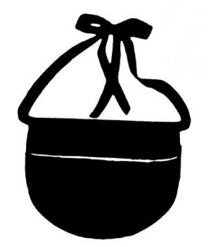 Porte monnaie sacoche, noir