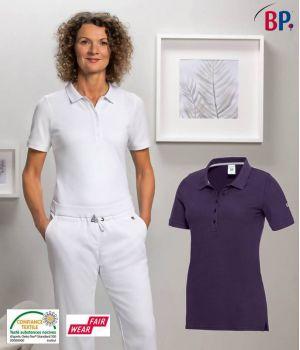 Polo Femme, Stretch Piqué Confort, Look Féminin, Coupe Seyante