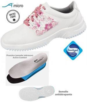 Chaussures de Travail, Microfibre, Semelle TPU antidérapante