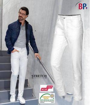 Pantalon Jean Homme, 5 Poches, Tissu Stretch Liberté de Mouvement