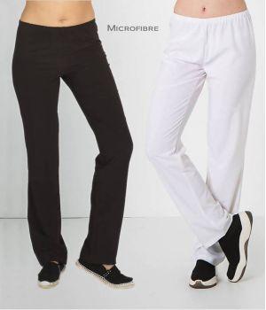 Pantalon Femme Microfibre, Taille Elastiquée, Confortable