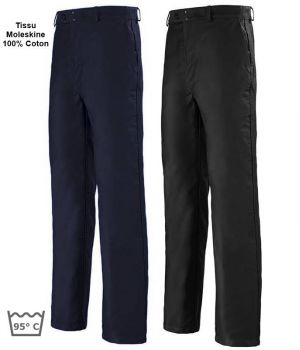 Pantalon de Travail Moleskine 100% Coton Sanfor, Adolphe Lafont