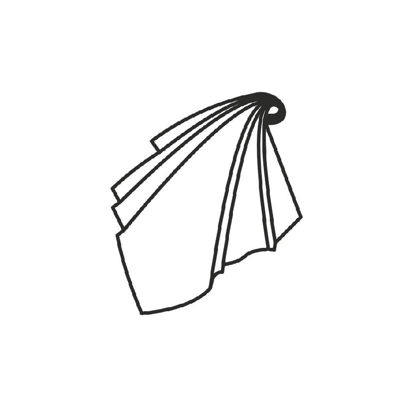 ... rouge-gris  Croquis foulard femme lavable 61efbc304d5d