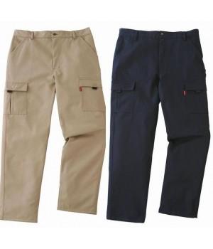 Pantalon de travail sergé 100 % coton émerisé, Adolphe Lafont