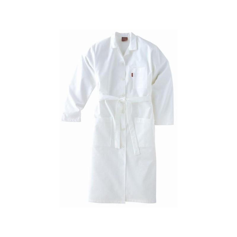 blouse femme adolphe lafont blanche manches longues coton. Black Bedroom Furniture Sets. Home Design Ideas