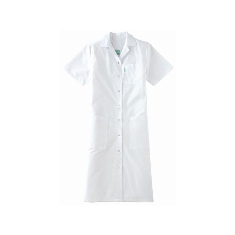 blouse blanche femme adolphe lafont manches courtes confort. Black Bedroom Furniture Sets. Home Design Ideas