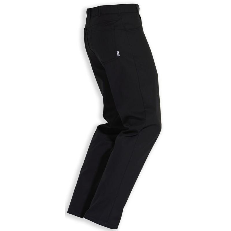 pantalon noir mixte coupe jean polyester coton noir. Black Bedroom Furniture Sets. Home Design Ideas
