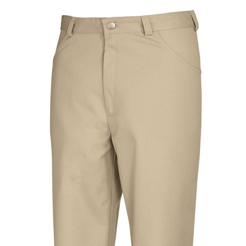 Pantalon cuisine ou service homme femme coupe jean couleur for Pantalon de cuisine homme