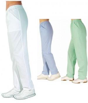 Pantalon femme Seersucker couleur Menthe, Taille M