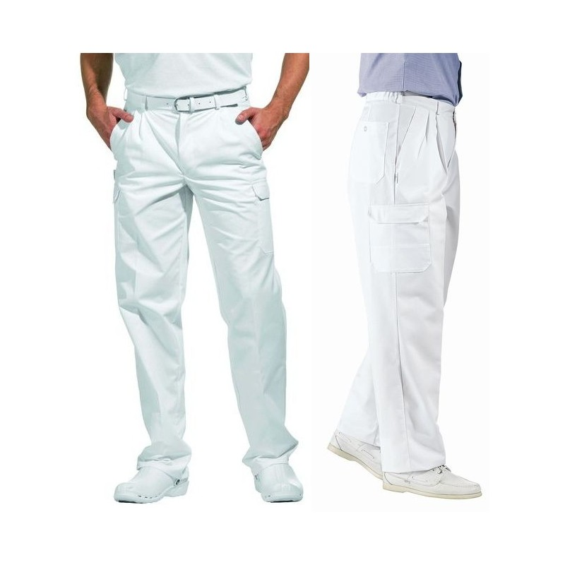 pantalon homme femme cargo blanc peut bouillir. Black Bedroom Furniture Sets. Home Design Ideas