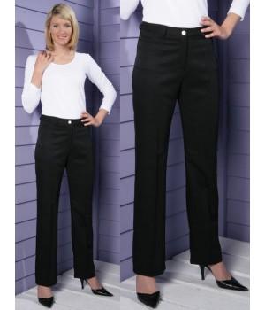 Pantalon noir, élégant en 100% Polyester