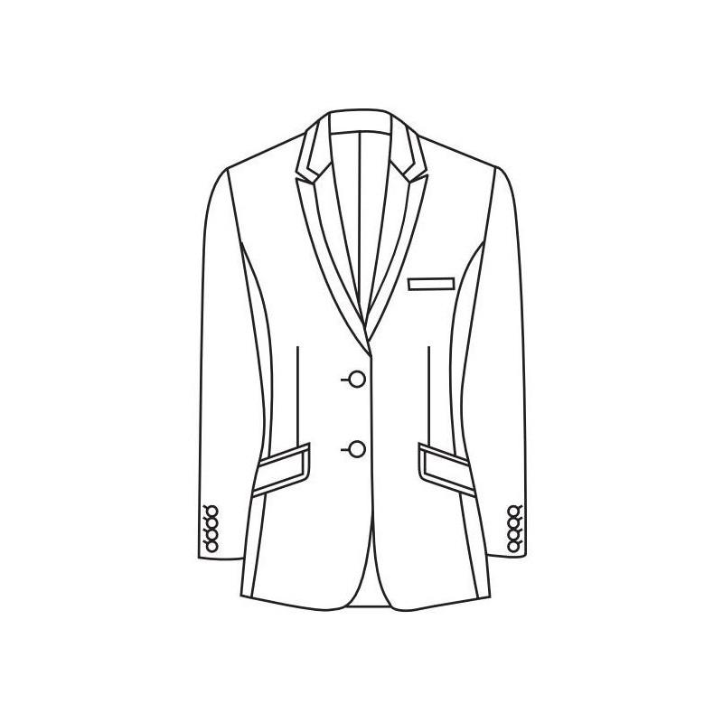 coupe d une veste homme vestes la mode 2018. Black Bedroom Furniture Sets. Home Design Ideas