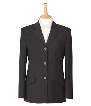 Veste femme Anthracite, 3 boutons, 2 poches, pour un look impeccable.