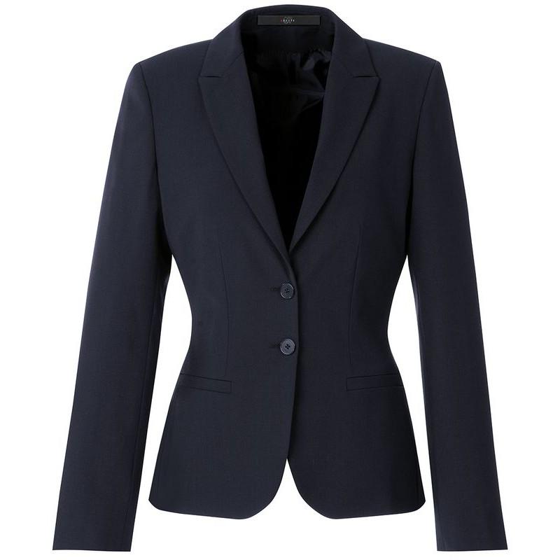 Veste cintree bleu marine femme