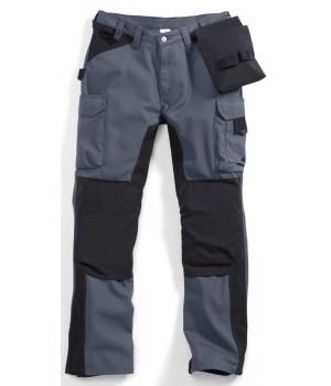 Pantalon travail homme Gris, Taille 44 nombreuses poches