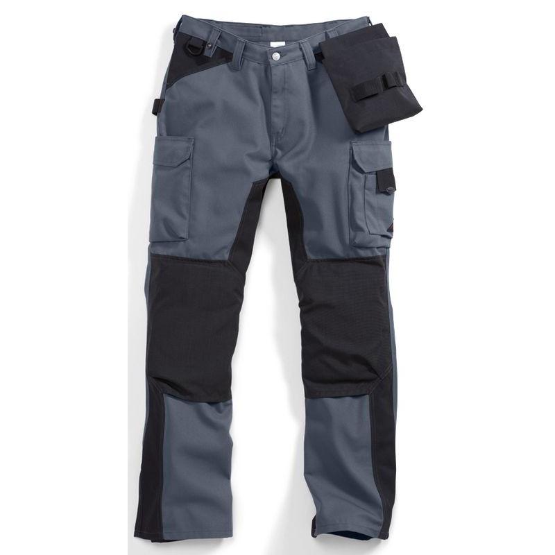 pantalon travail homme nombreuses poches genouill re cordura. Black Bedroom Furniture Sets. Home Design Ideas