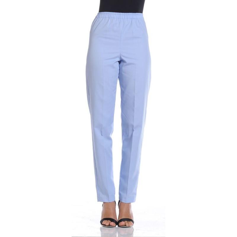 Sans Élastiquée Pantalon Poche Droit Taille Mixte wIYqBU6