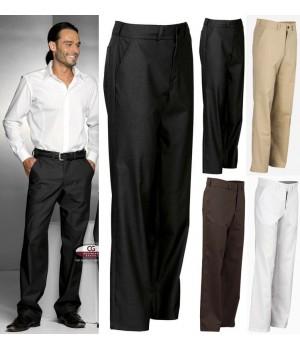Pantalon homme pour l 39 accueil la salle ou le service - Pantalon a bande homme ...