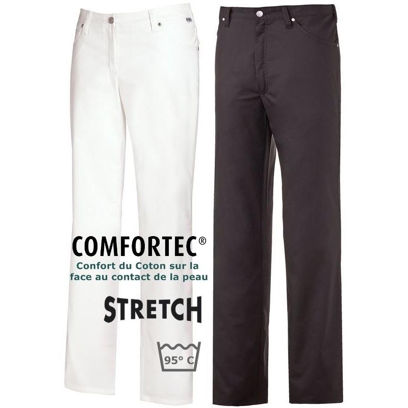 pantalon jean homme 5 poches rivets renfort fessier. Black Bedroom Furniture Sets. Home Design Ideas