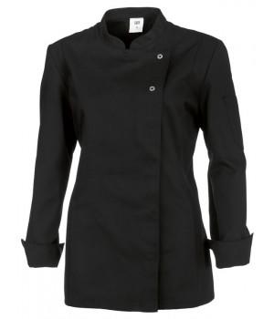 Veste de cuisine femme veste chef femme biomidi Veste de cuisine orange