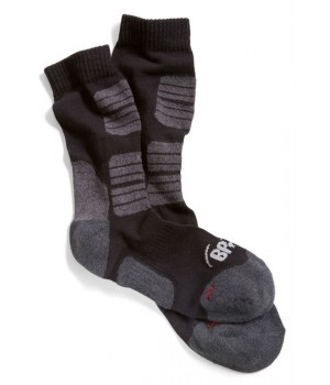 Chaussettes de travail, Coutures extra-plates, Rembourrage souple, Forme ergonomique, Le pack de 5 paires
