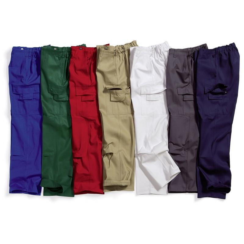 pantalon de travail homme 100 coton irr tr cissable lastique au dos. Black Bedroom Furniture Sets. Home Design Ideas