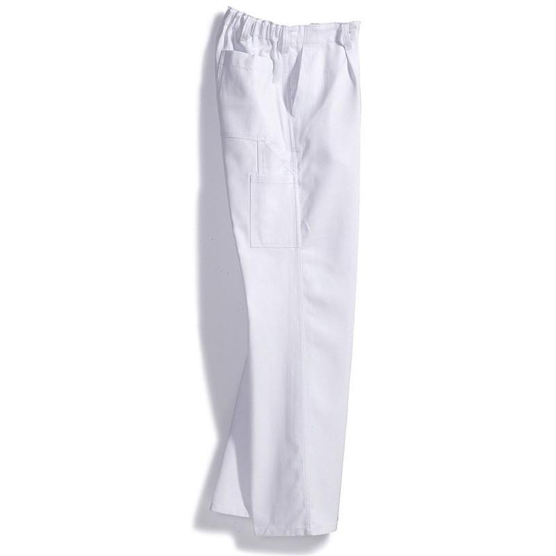 Au Teint100CotonElastique HommeGrand De Pantalon Dos Travail gIYv7by6f