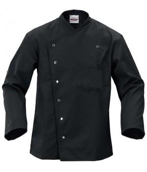 veste de cuisine confortable et durable poche poitrine. Black Bedroom Furniture Sets. Home Design Ideas