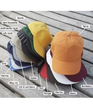 Casquette, Polyester Coton, Velcro ajustable