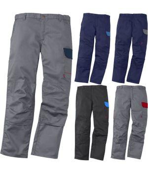Pantalon de Travail Bi-colore, Élastiqué à la taille, Confortable