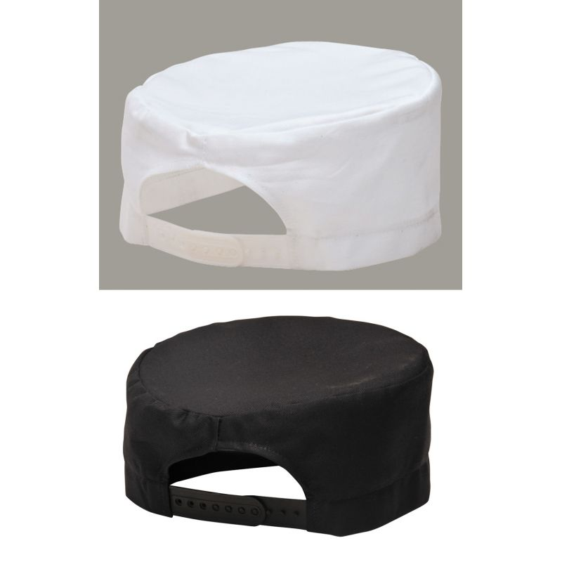 tour de cou, calot de cuisine, coiffe, visière, casquette, bandana