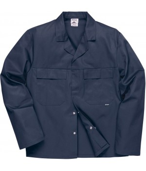 Blouson travail homme, Tissu Tradeguard polyester coton