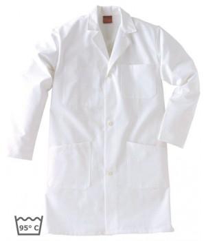 Blouse de travail, Col transformable, coton, Adolphe Lafont, blanc