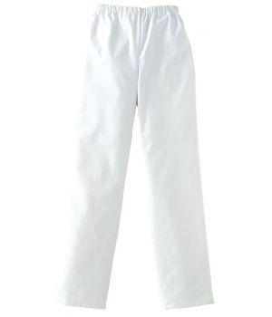 Pantalon blanc unisexe, très confortable au porter, Adolphe Lafont