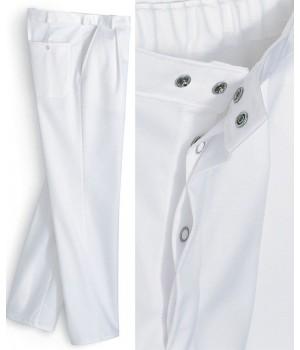 pantalon blanc homme polyester coton, Entretien facile