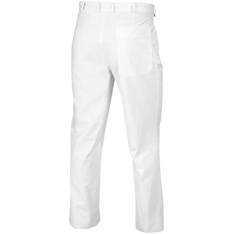 pantalon blanc homme coupe jean 100 coton peut bouillir. Black Bedroom Furniture Sets. Home Design Ideas