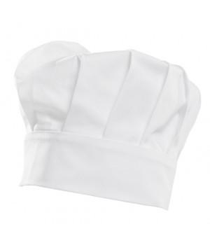 Toque cuisine, Chef, pâtissier, Hauteur 220 mm, 100% coton, paquet de 2