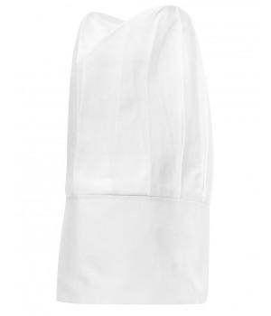 Toque cuisinier, toque chef, Hauteur 350 mm, 100% coton, paquet de 2