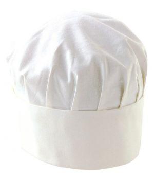 Toque cuisine Adolphe Lafont, Hauteur 170 mm, Sergé 100% coton