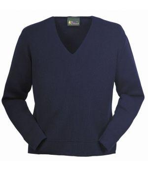 Pull-over femme laine mérinos et acrylique, traité Téflon anti taches