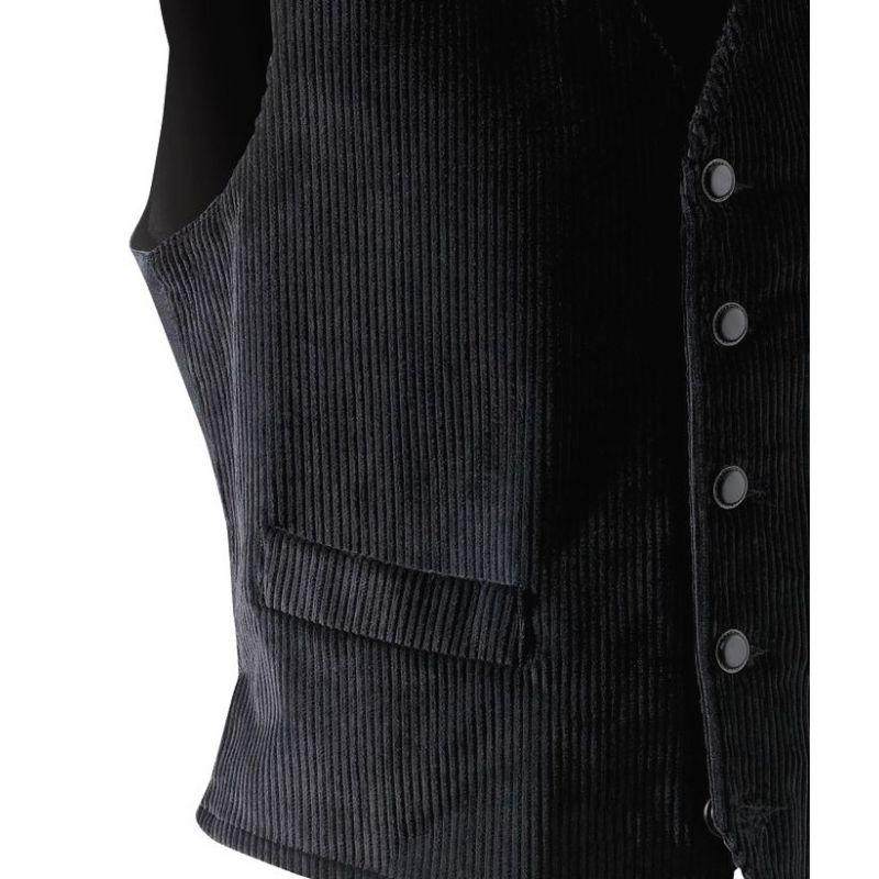 Gilet Velours 100 %coton mercerie de qualité Adolphe Lafont 1d82da63332c
