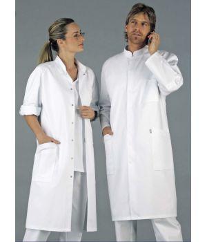 Blouse médicale, homme et femme à manches retroussables, Modèle raglan