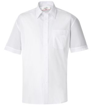 Chemise homme manches courtes, Blanc, Taille 39/40